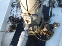 V-83 mast area-Dec 2006