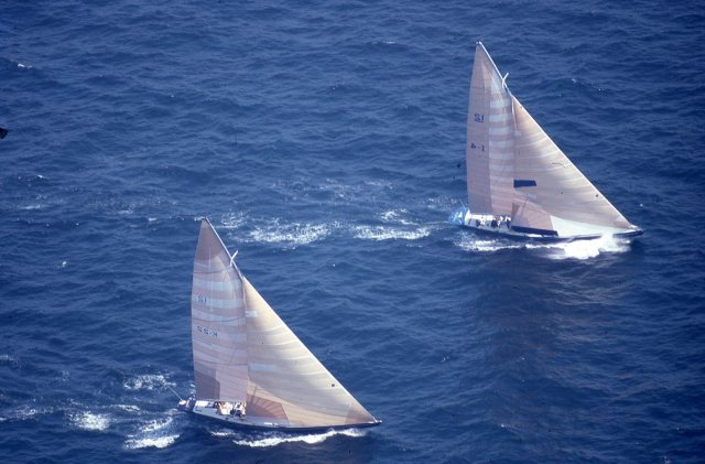 Victory '83 and Azzurra - Challenger Trials 1983