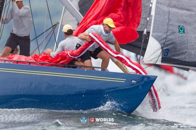 11th July 2019. Day Three of the 12m World Championship, Newport, RI, USA.