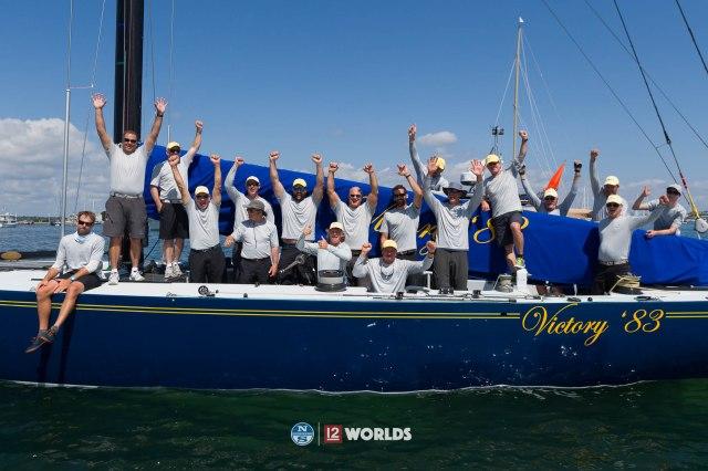 13th July 2019. Parade of Sail,  12m World Championship, Newport, RI, USA.